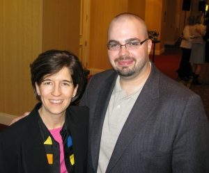 Shannon & Michael Cage at the Info Summit